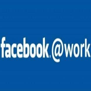 """Facebook'tan Çalışanlara Özel """"Facebook At Work"""""""