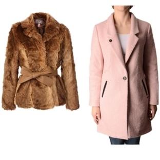 Farklı vücut tipine göre palto