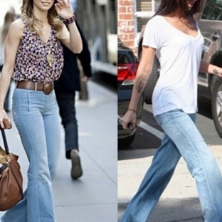 Geniş Paça Pantolon Modelleri