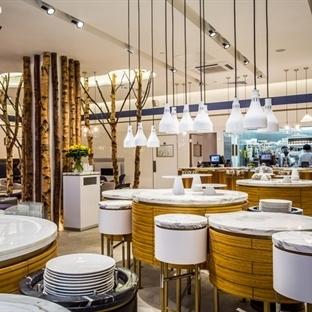 I-AM'den Londra'da Ethos Restaurant Aydınlatma