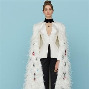 Kadınsı şıklık Ulyana Sergeenko Couture Bahar'15
