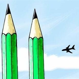 Karikatüristler Charlie Hebdo İçin Çizdi