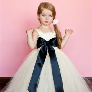 Kız Çocukları İçin Tütü Abiye Elbise Modelleri