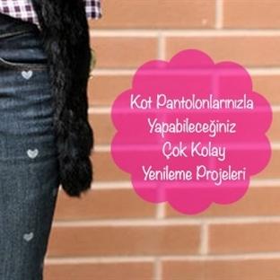 Kot Pantolonlarınızla Yapabileceğiniz Yenileme Pro