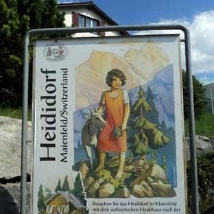 Maienfeld'de Heidi'nin Evi