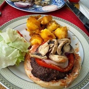 Mantarlı Hamburger Tarifi