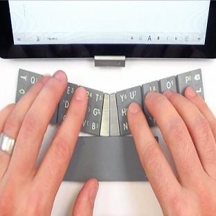 Manyetik Klavye: TextBlade