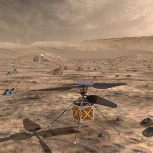 Mars'a Helikopter Projesi