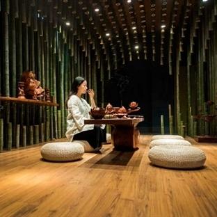 MINAX'dan Lotus & Bamboo Tea Room Aydınlatma