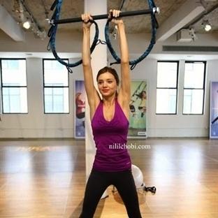 Miranda Kerr Formunun Sırrını Açıkladı =Yeni Spor!