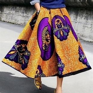 Moda: Afrikan Etnik Desen