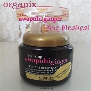 Organix Awapuhi Ginger Saç Maskesi Yorumlarım
