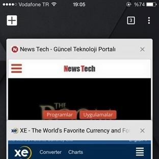İOS için Chrome uygulamasına yepyeni bir tasarım!