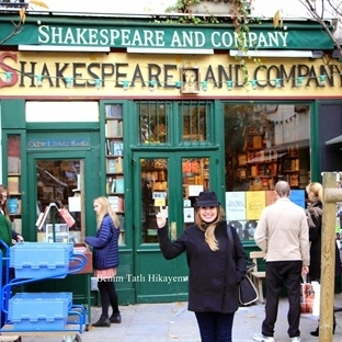 Paris'in Sıfır Noktası: Shakespeare and Company