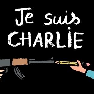 Paris'teki Kanlı Saldırıyı Protesto Eden Çizimler
