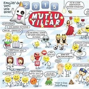 Salih Memecan'ın 1 Ocak 2015 karikatürü ne diyor?