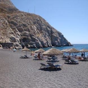 Santorini Adasında Yer Alan Plajlar