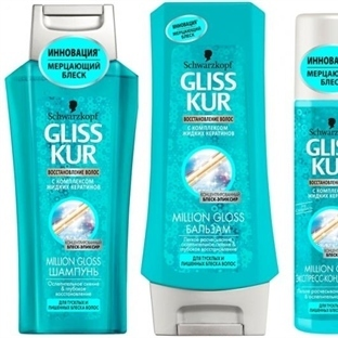 Schwarzkopf Gliss ~ Million Gloss Şampuan