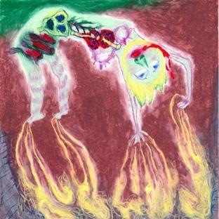 Şizofreni Hastaları Tarafından Yapılan Resimler