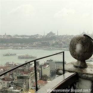 İstanbul'a kar geldi sonunda !