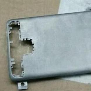 İşte karşınızda Galaxy S6'nın kasası