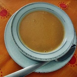 Sütlü Patatesli Mercimek Çorbası