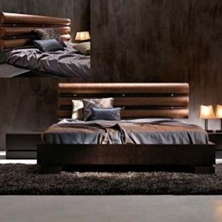 İtalyan Tasarımı Yatak Odası Dekorasyon Örnekleri