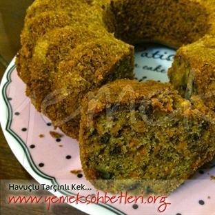 Tarçınlı Havuçlu Kek...
