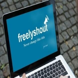 Türkiye'nin İlk Sosyal Ağ Sitesi: FreelyShout