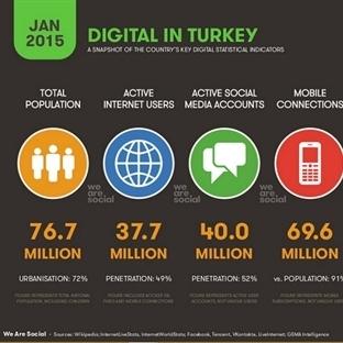 Türkiye'nin İnternet Kullanımı