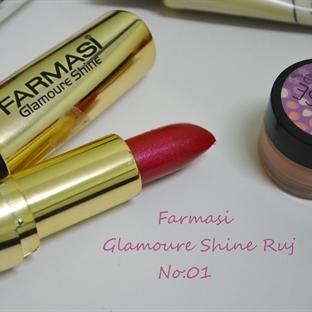 Ürün İncelemesi:Farmasi Glamoure Shine Ruj No:01