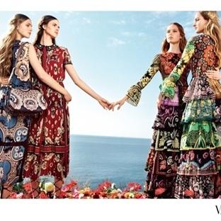 Valentino'nun bohem ve masalsı baharı