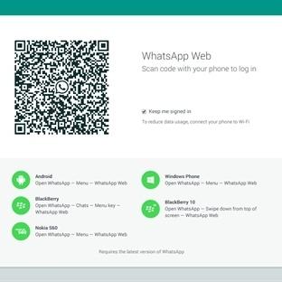 WhatsApp Web Yayınlandı!