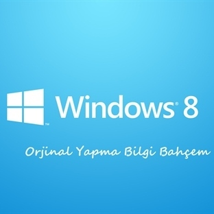 Windows 8 Orjinal Yapma Programı