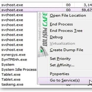 Windows Svchost.exe CPU Tüketim Sorunu ve Çözümü