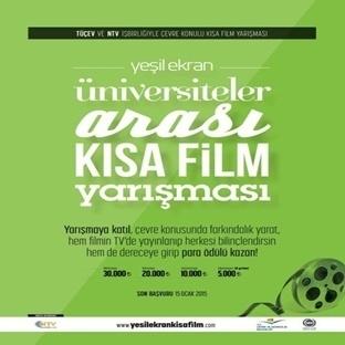 Yeşil Ekran Kısa Film Yarışması Seni Bekliyor!