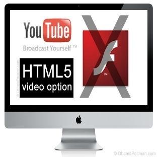 YouTube'da HTML5 Dönemi Resmen Başladı