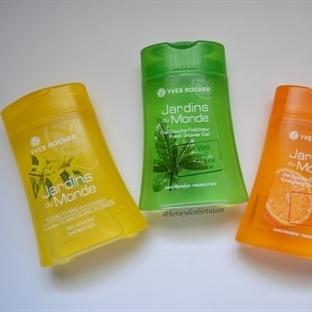 Yves Rocher Dünya Bahçelerinden Duş Jelleri: Tiare