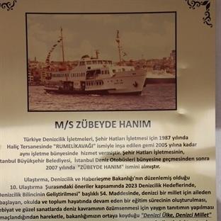 Zübeyde Hanım Gemi Müzesi
