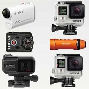 2015 Aksiyon Kamera Karşılaştırma Kılavuzu