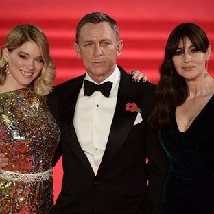24. Bond Filmi Spectre'nin Galası Yapıldı