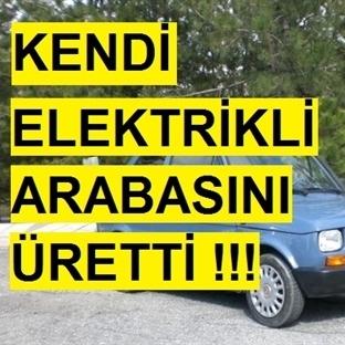 3 Bin TL'ye Aldığı Arabaya Elektrikli Motor Taktı!