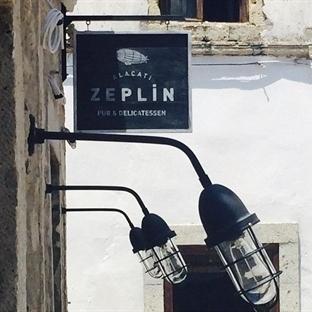 Alaçatı'da Zeplin Pub Aydınlatma