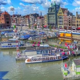 Amsterdam'a Gezi
