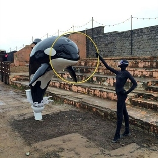 Banksy'nin Moral Bozan Parkı Dismaland