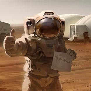 """Bu Marslı """"O"""" Marslılardan Değil"""