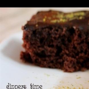 Çikolata Soslu Brownie