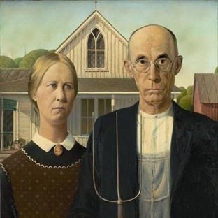 Eser Yorumu: Grant Wood- Amerikan Gotiği