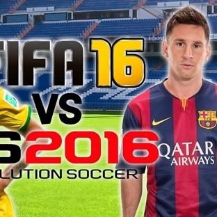 FIFA 2015 ve PES 2016 Karşılaştırması [Video]