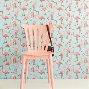 Flamingo Desenli Duvar Kağıdı Fikirleri